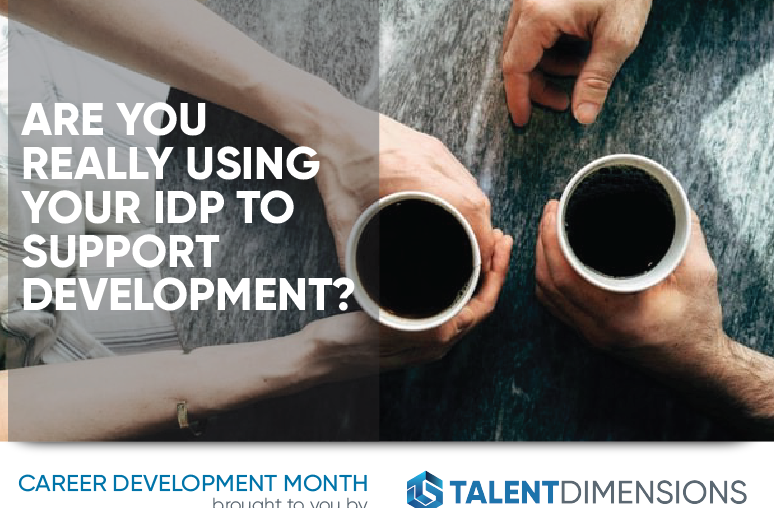 Are You Really Using Your IDP to Support Development?